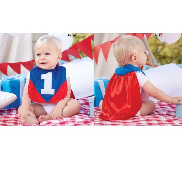 7b6ebf56e Mud Pie Accessories | E7 Baby Boy Birthday Appliqu Im One Bib | Poshmark